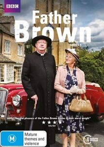 Father Brown : Series 5 (DVD, 2017, 4-Disc Set)