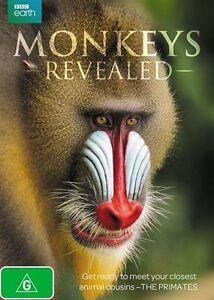Monkeys Revealed (DVD, 2015), NEW SEALED REGION 4