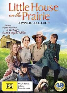 Little House On The Prairie DVD Box Set Includes Beyond the Prairie R4 49-discs