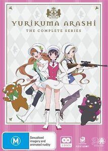 Yurikuma Arashi Complete Series NEW R4 DVD