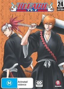 Bleach Collection 24 (Eps 317-329) NEW R4 DVD