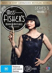 Miss Fisher's Murder Mysteries - Series / Season 3 - Part 1 : NEW DVD