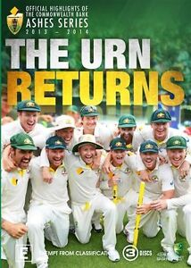 Ashes 2013/2014 - The Urn Returns : NEW DVD