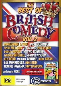 NEW SEALED Best Of British Comedy : Vol 2 - DVD Region 4 Free Shipping!