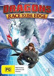 Dragons - Race To The Edge : NEW DVD