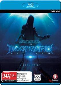 Metalocalypse: The Doomstar Requiem - W/ Bonus CD Sound NEW B Region Blu Ray