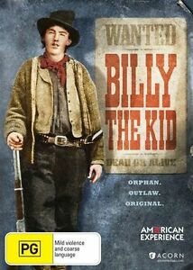 American Experience: Billy the Kid * NEW DVD *