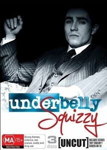 NEW & SEALED Underbelly Squizzy DVD Aus Region 4, Fast Free Postage