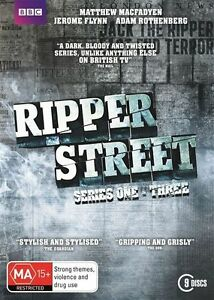 Ripper Street COMPLETE Series - Season 1-3 : NEW DVD (9 Disc Set)