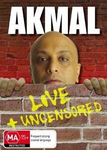 Akmal - Live & Uncensored (DVD, 2009)
