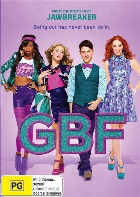 GBF [G.B.F. Gay Best Friend ] DVD Movie BRAND NEW SEALED NEW RELEASE COMEDY R4