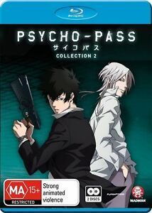 Psycho-Pass Collection 2 NEW B Region Blu Ray