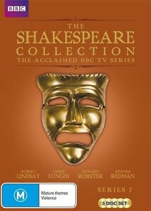Shakespeare Collection : Series 7 (DVD, 2015, 5-Disc Set) BRAND NEW SEALED