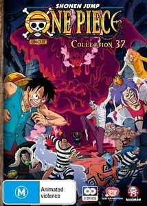 One Piece (Uncut) Collection 37 (Eps 446 - 456) NEW R4 DVD