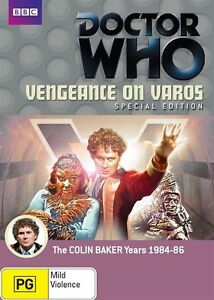 Doctor Who - Vengeance On Varos (1984-86, 2-Disc Set) Brand New And Sealed!!
