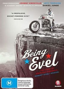 Being Evel DVD BRAND NEW SEALED