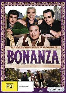Bonanza Season 6 (DVD, 9-Disc Set) BRAND NEW SEALED