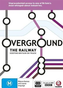Overground: The Railway - Keeping Britain on Track NEW R4 DVD