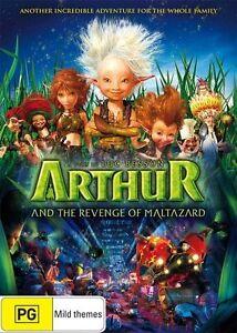 Arthur and THE REVENGE OF MALTAZARD : NEW DVD