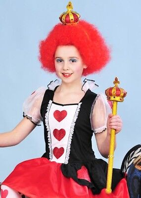 Kids Queen of Hearts Style Crown and Sceptre - Queen Of Hearts Scepter