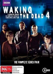 Waking The Dead: Season 4 (DVD, 2010, 6-Disc Set), NEW SEALED REGION 4