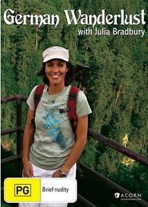 German Wanderlust With Julie Bradbury (DVD, 2015) New & Sealed