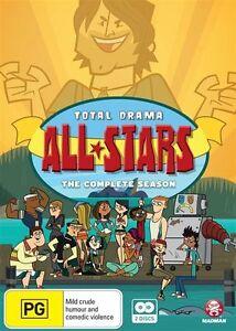 Total Drama all-Stars NEW R4 DVD