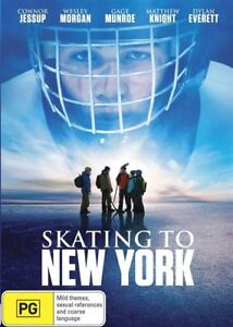 Skating To New York...CONNOR JESSUP...WESLEY MORGAN...REG 4...NEW & SEALED