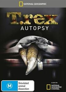 National Geographic: T.Rex Autopsy - DVD Movie - Special Interest - NEW