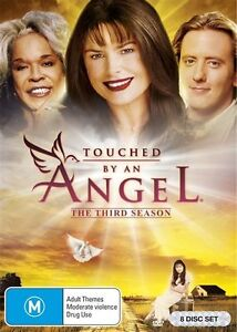Touched By An Angel : Season 3 (DVD, 2016, 8-Disc Set)  Brand new, Genuine D82