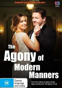 The Agony Of Modern Manners - New/Sealed DVD Region 4 (aunts uncles of life)