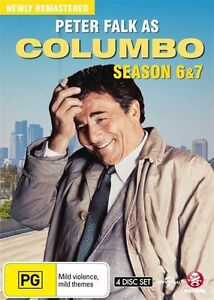 Columbo : Season 6 & 7 (DVD, 2015, 4-Disc Set) New & Sealed
