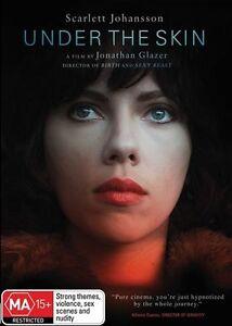 Under The Skin (DVD, 2014) Scarlett Johansson