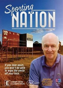 Sporting Nation (2-Disc Set)  3 HRS..JOHN CLARKE..R4...NEW & SEALED   D3007