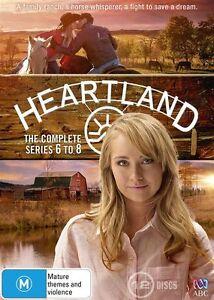 Heartland : Series 6-8 (DVD, 2015, 12-Disc Set) Brand New, Genuine & Sealed D54