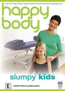 Happy Body - Slumpy Kids - New/Sealed DVD Region 4