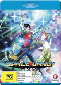 Space Dandy : Part 1 :Eps 1-13 (Blu-ray,2015, 2-Disc Set)-REGION B -Free postage