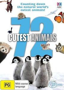72 Cutest Animals : NEW DVD
