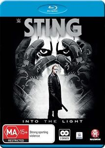 WWE Sting - Into The Light (Blu-ray, 2016, 2-Disc Set)