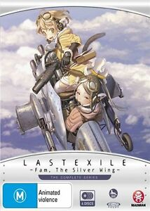 Last Exile -Fam, the Silver Wing- Complete Series NEW B Region Blu Ray