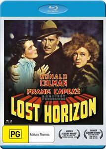~*~LOST HORIZON (Blu-ray, 2016) DIRECTED BY FRANK CAPRA~REGION B~*~