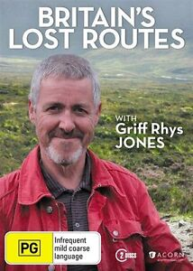 Britain's Lost Routes with Griff Rhys Jones DVD NEW