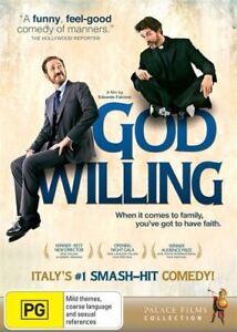 God Willing NEW R4 DVD
