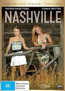 Nashville : Season 2 : Part 1 (DVD, 2015, 3-Disc) R4 New, ExRetail Stock (D152)
