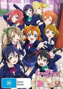 Love Live! School Idol Project Season 1 Collector's Edition NEW R4 DVD