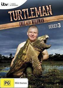 Turtle Man (TurtleMan) Call of the Wildman Season 3 : NEW DVD