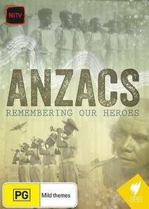 Anzacs (DVD, 2015)--REGION 4-Brand new
