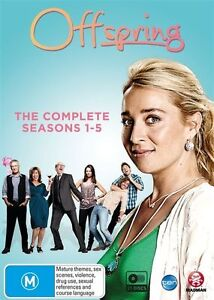 OFFSPRING - THE COMPLETE SERIES 1-5 - 21 DISC BOX SET - SEALED