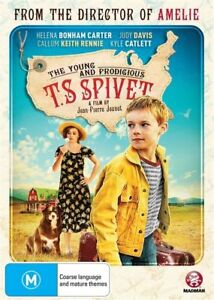 The Young And Prodigious T.S. Spivet (DVD, 2015) BRAND NEW SEALED