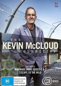 The Kevin McCloud COLLECTION (DVD, 3-Disc Set) NEW